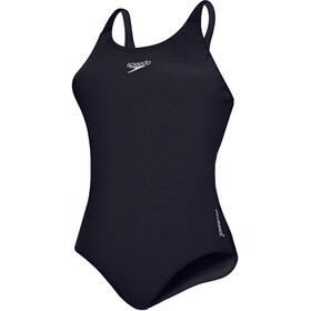 speedo Essential Endurance+ Medalist Traje de Baño Mujer, azul